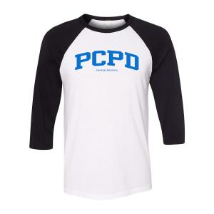 General Hospital PCPD Raglan (White/Black)