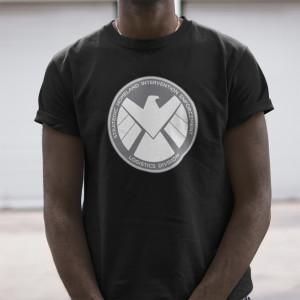 Marvel's Agents of S.H.I.E.L.D Grey Badge T-Shirt