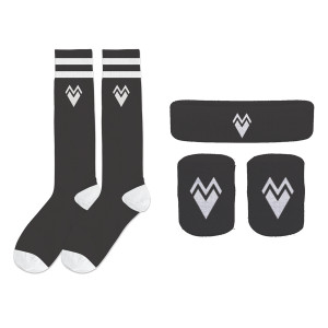 Sock + Headband + Wristband Set