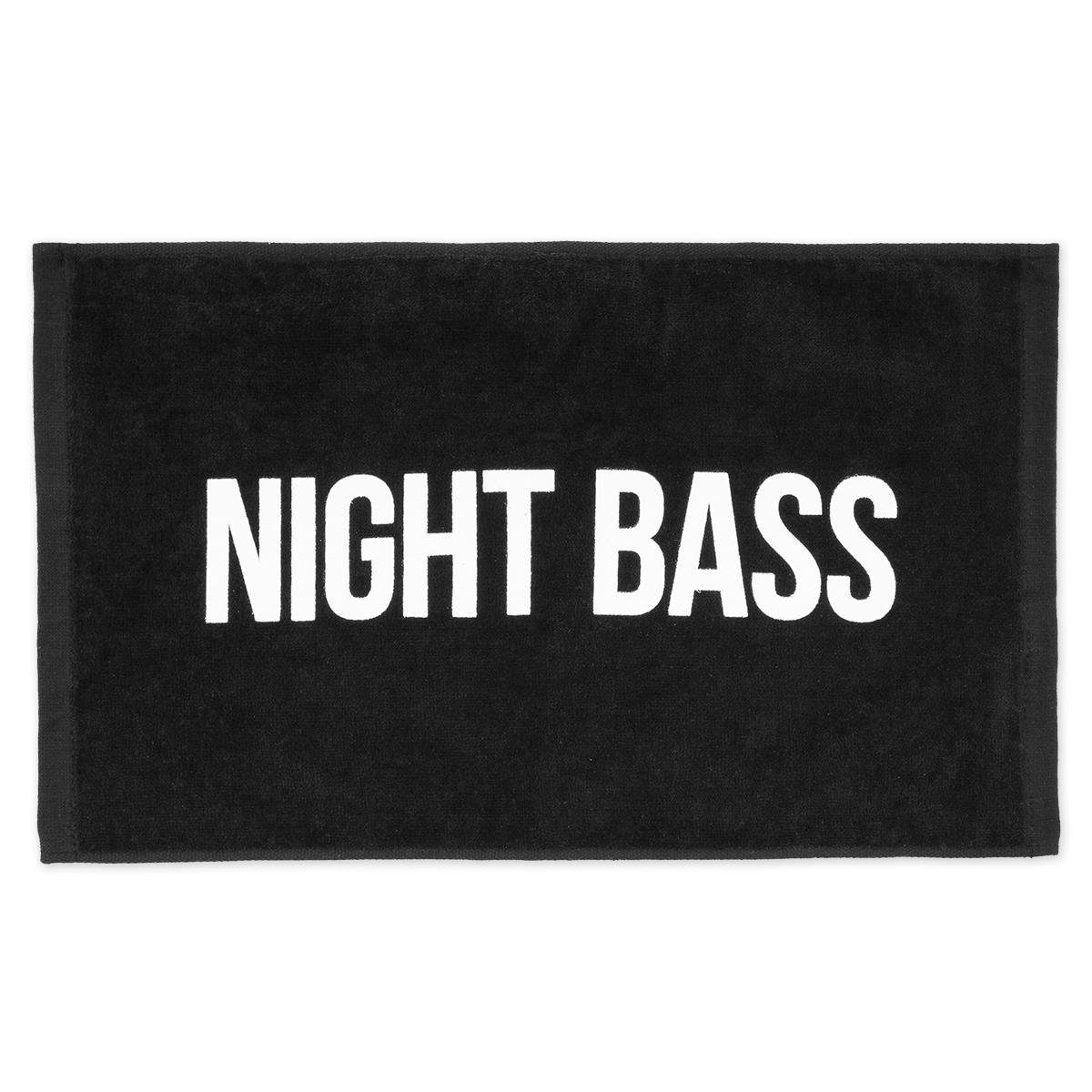 Night Bass Hand Towel