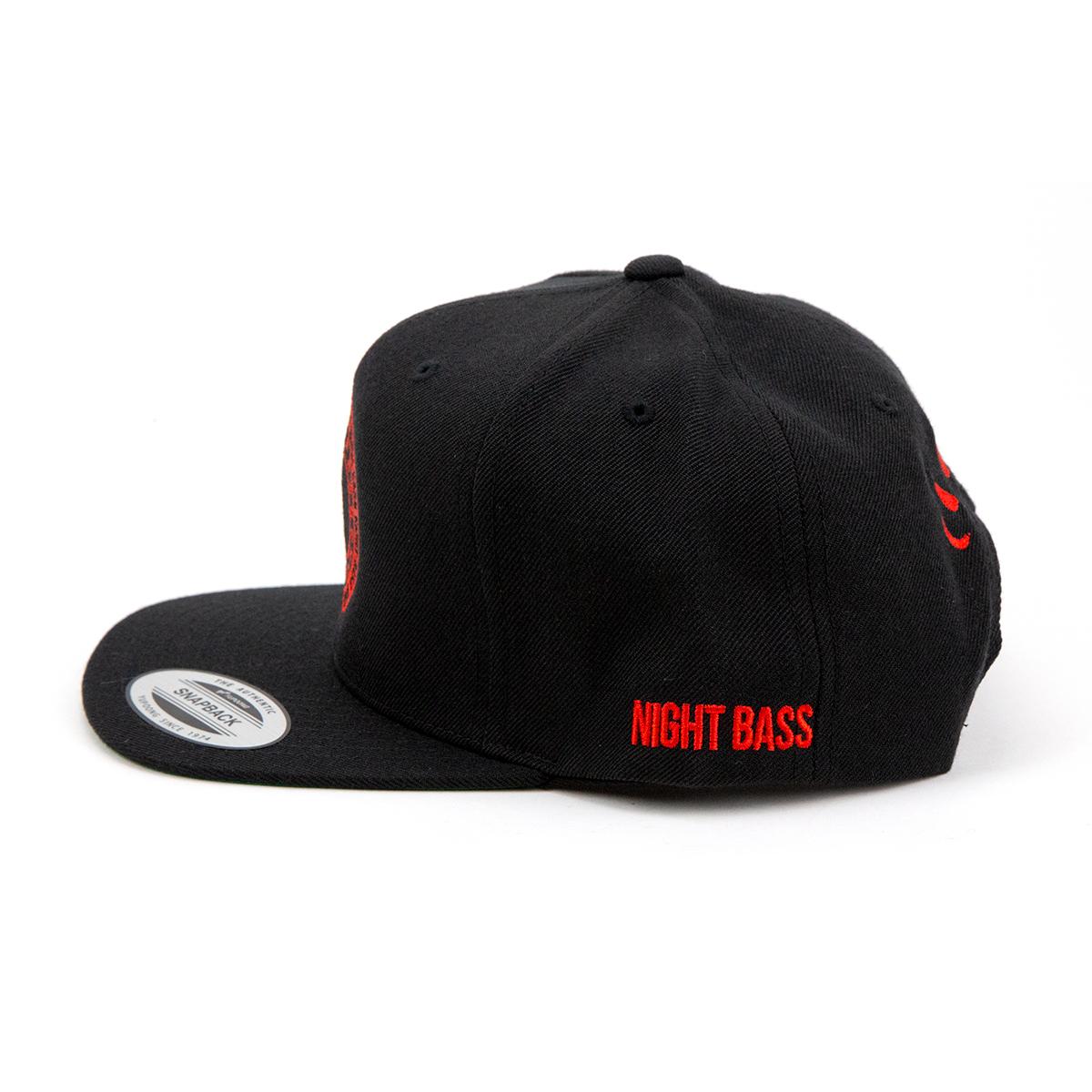 Night Bass Crest Snapback