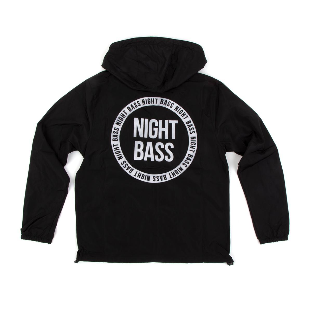 Night Bass Hooded Windbreaker
