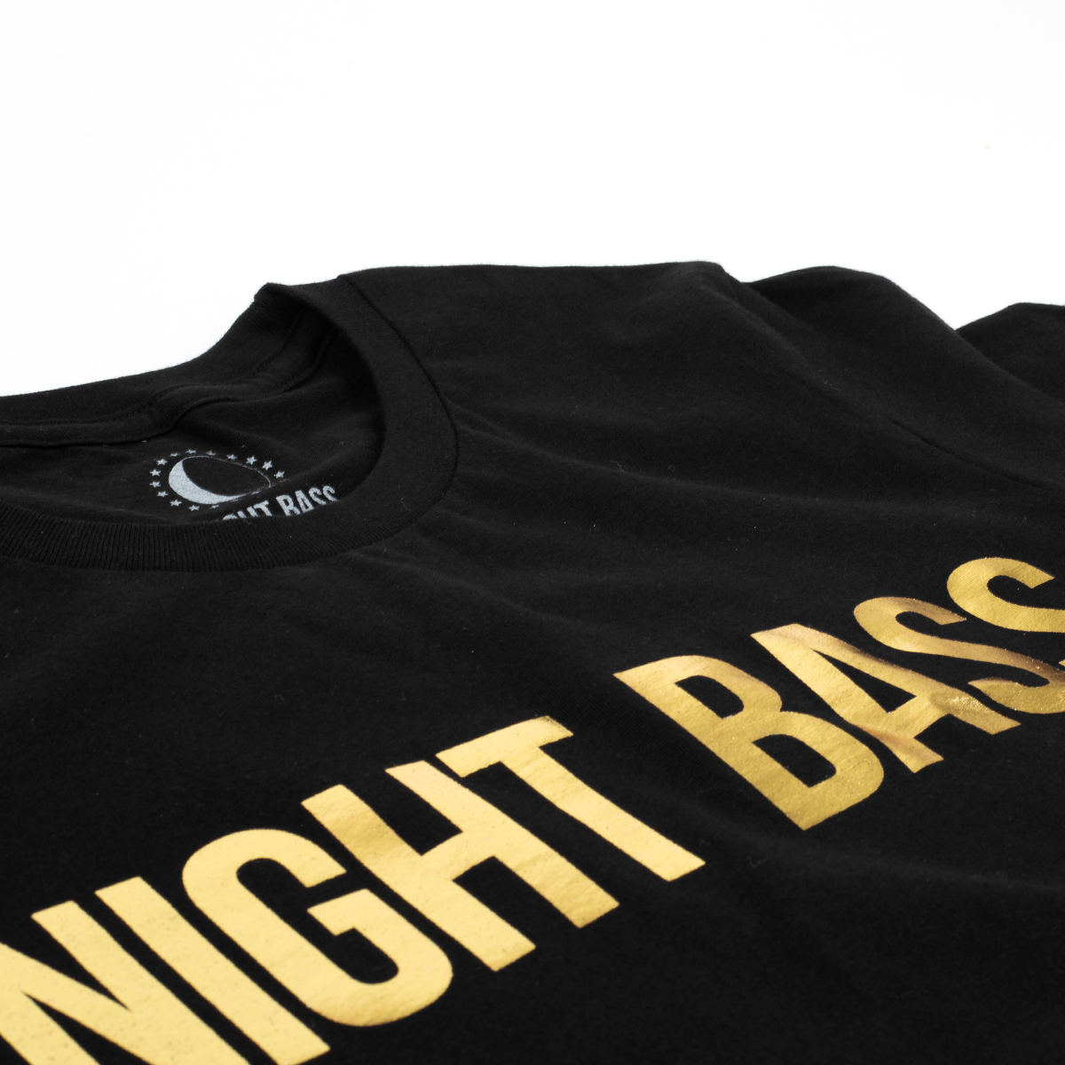 Night Bass Classic Gold Foil T-Shirt