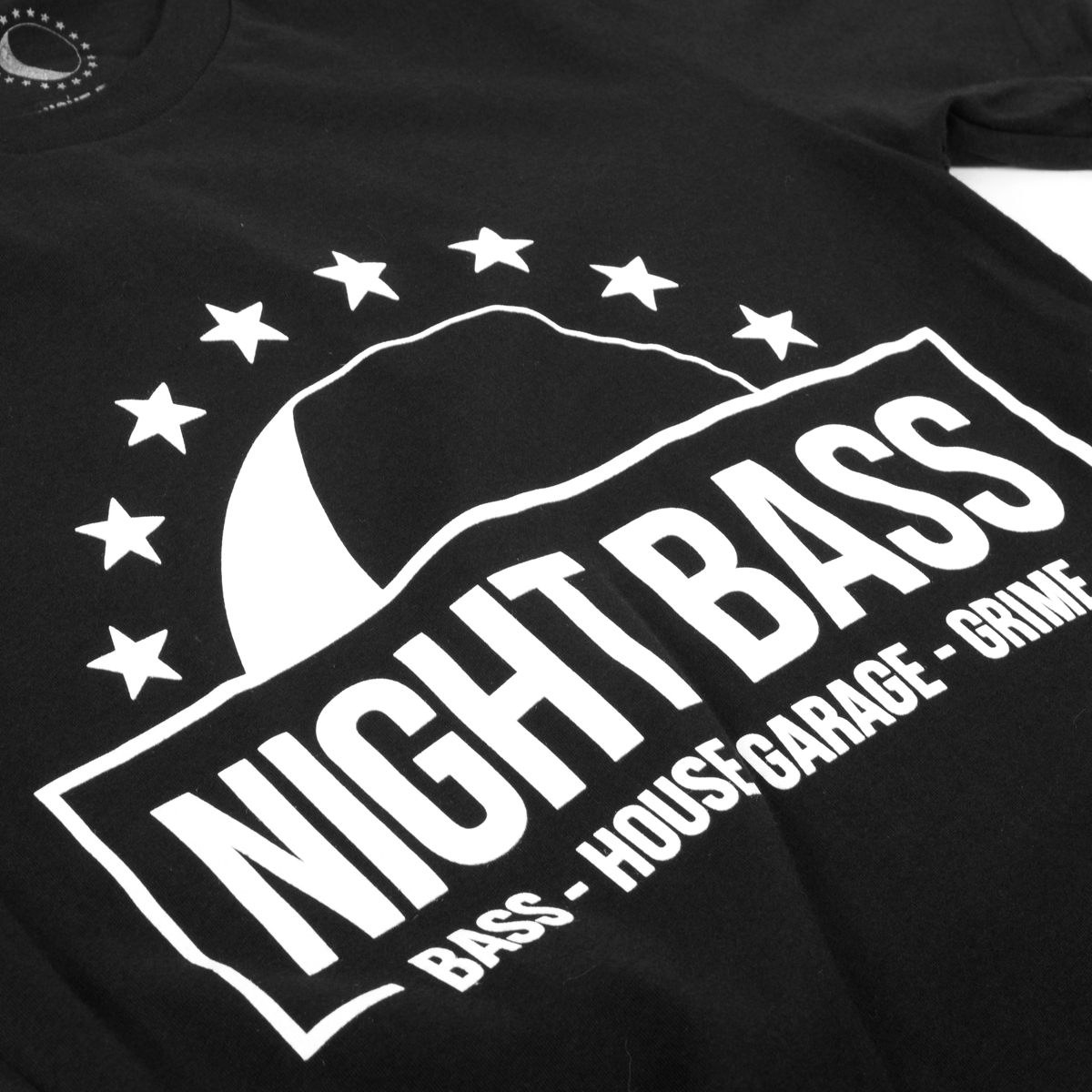 Night Bass Half Moon & Stars T-Shirt