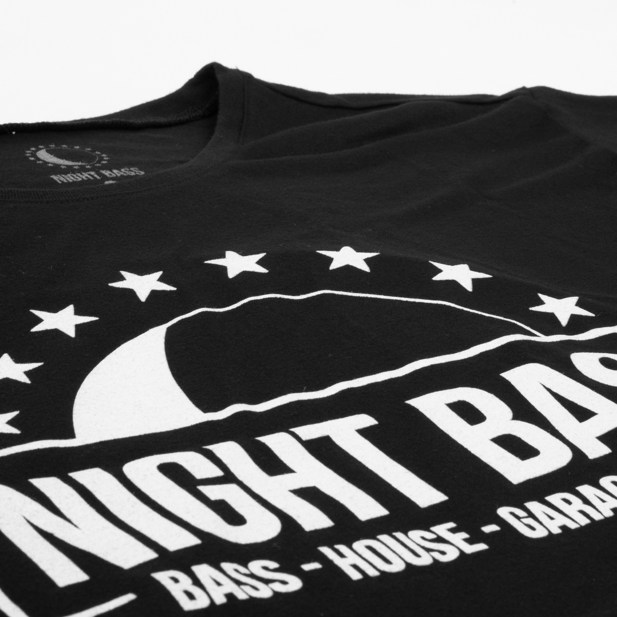 Night Bass Half Moon & Stars Women's Crop