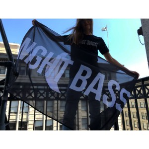 Night Bass Flag