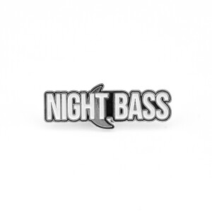 NIGHT BASS Pin