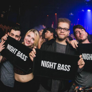 Night Bass Hand Towel
