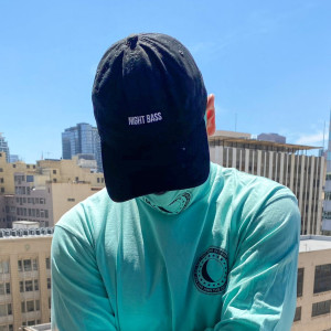 Night Bass Phases Dad Hat (Black)