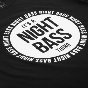 It's a Night Bass Thing (Glow-in-the-dark) Hoodie