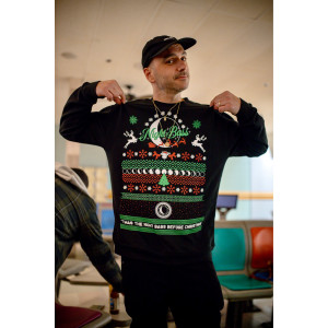 Twas the Night Bass Before Christmas Crewneck