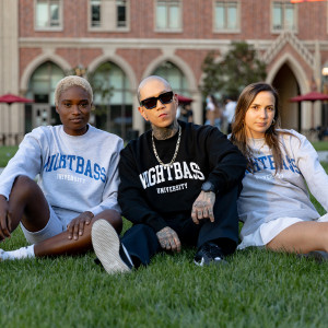 University Crewneck (Black)