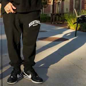 University Sweatpants (Black)