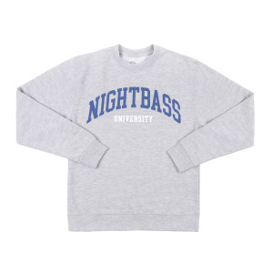 University Crewneck (Heather Grey)