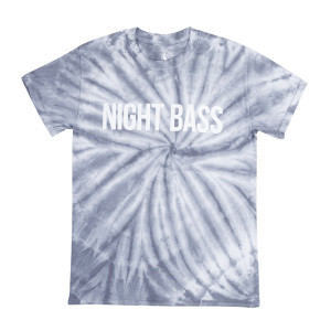 Night Bass Silver Tie Dye T-Shirt