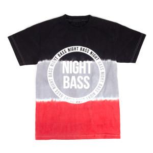 Night Bass Dip Dye T-Shirt