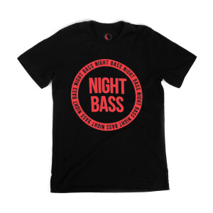 Night Bass Circle Logo Tee