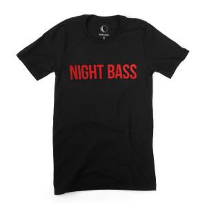 Night Bass Blood Moon T-Shirt
