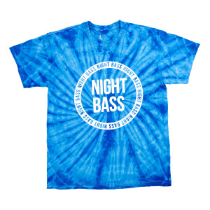 Night Bass BlueTie Dye T-Shirt