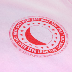 Full Moon Tee (Pink & Red)