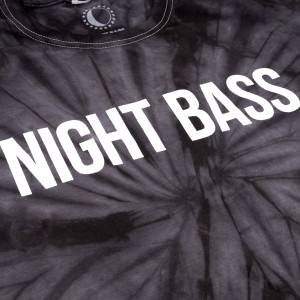 Night Bass Classic Tie Dye T-Shirt (Black)