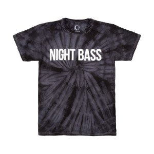 Night Bass Classic Tie Dye T-Shirt (Black)