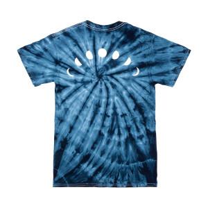 Night Bass Classic Tie Dye T-Shirt (Navy)
