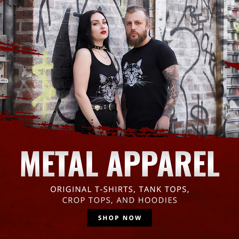 Century Media Metal Apparel | Original t-shirts, tank tops, crop tops, and hoodies. | Shop Now