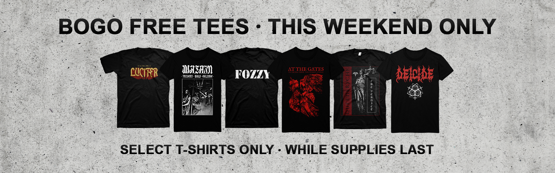 Buy One, Get On Free T-Shirts!