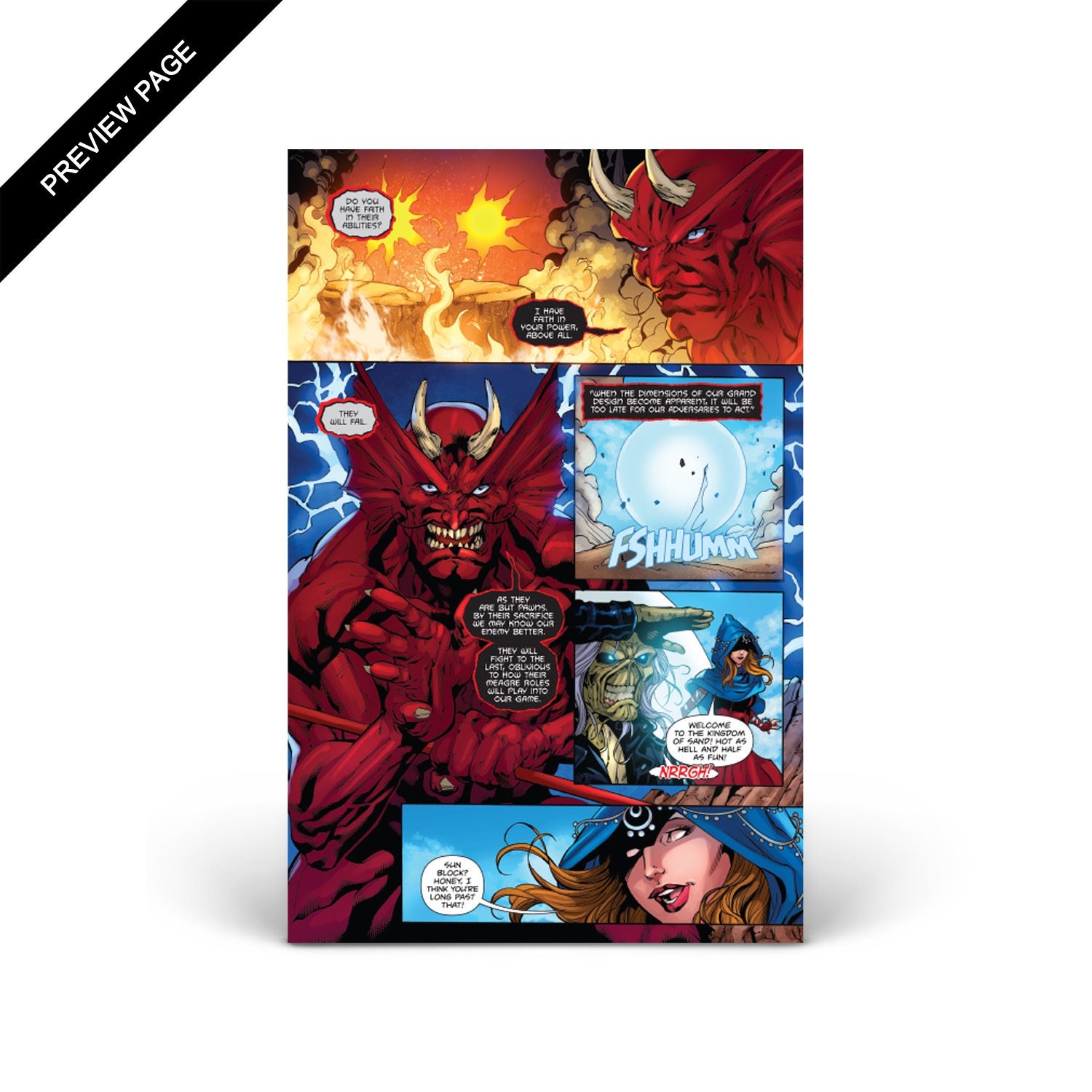 Iron Maiden - Legacy of the Beast - Volume 1 - Issue #2 - Cover C