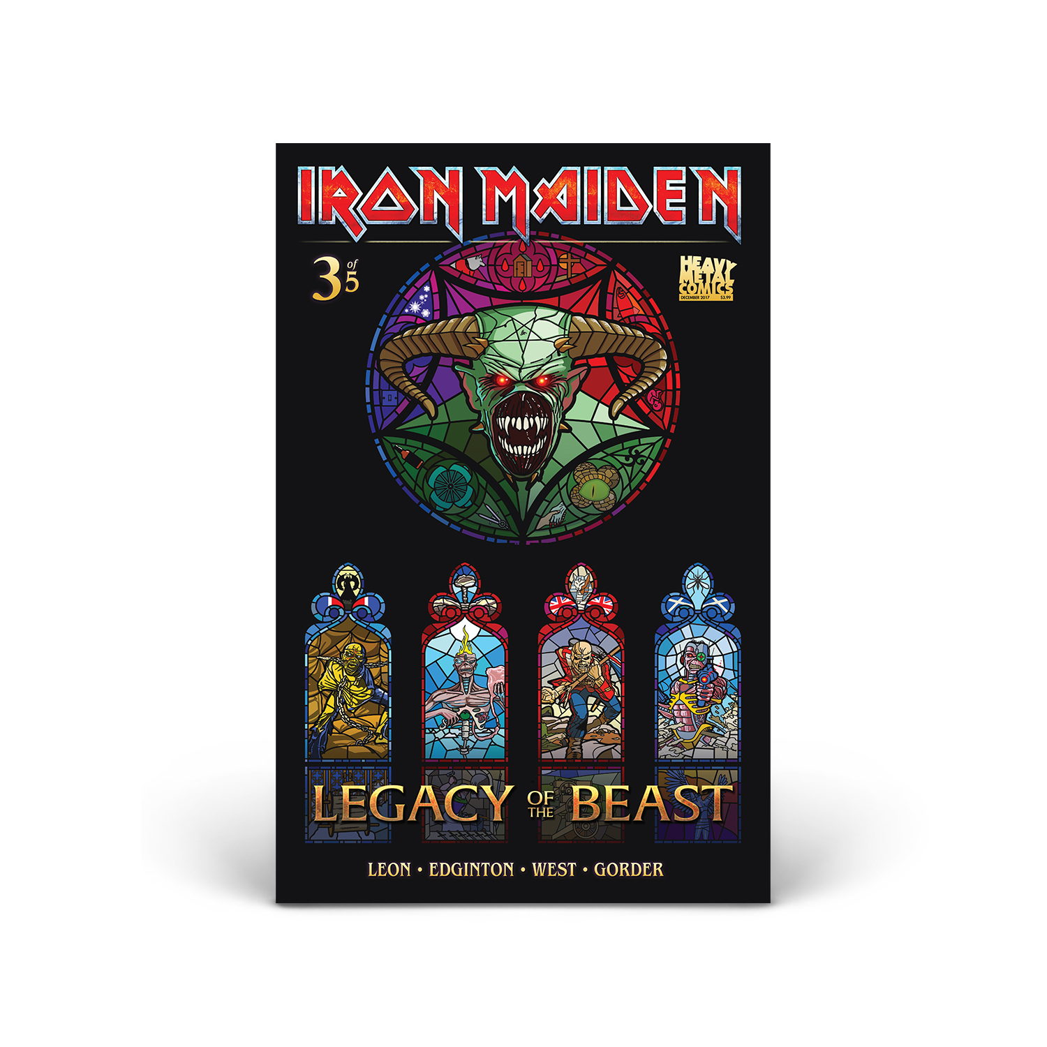 Iron Maiden - Legacy of the Beast - Volume 1 - Issue #3 - Cover B