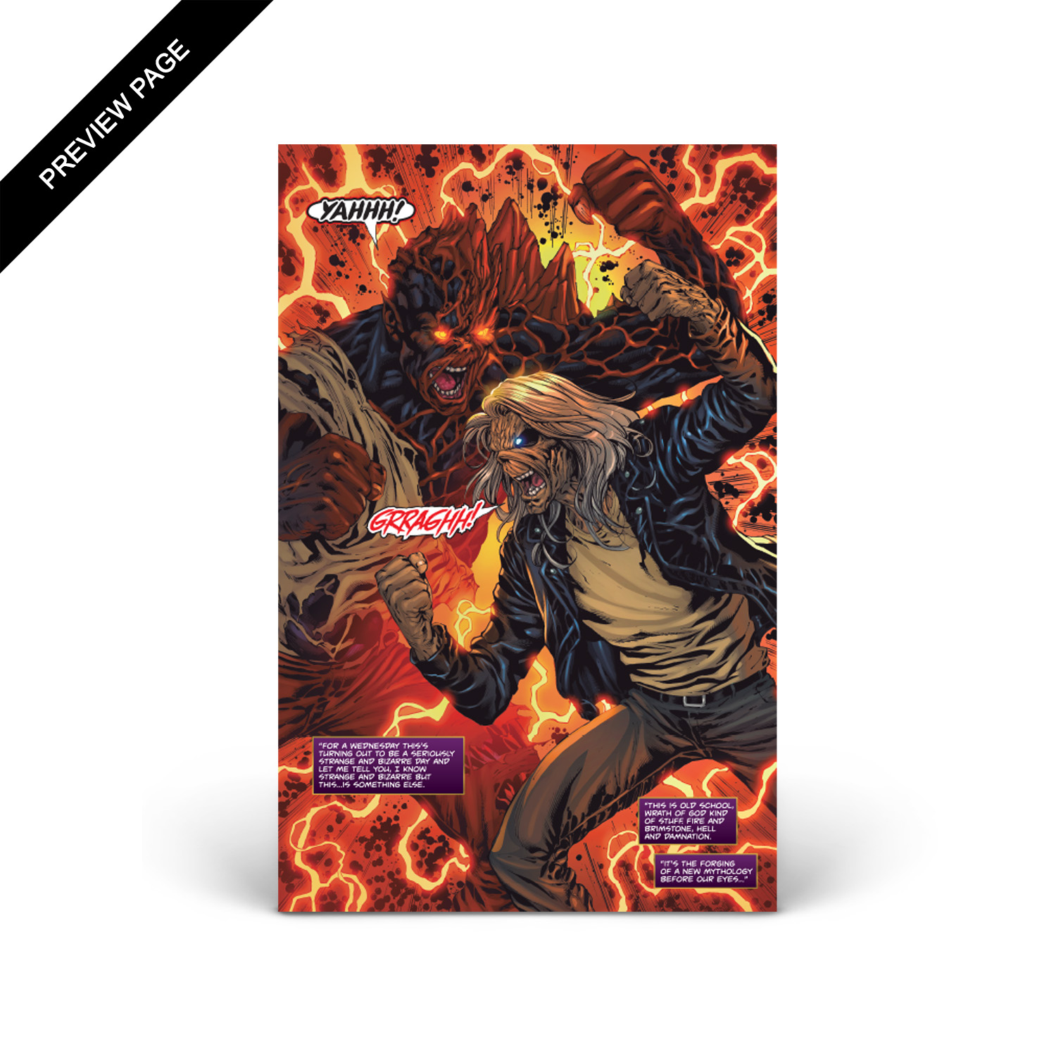 Iron Maiden - Legacy of the Beast - Volume 2 - Issue #3 - Cover C