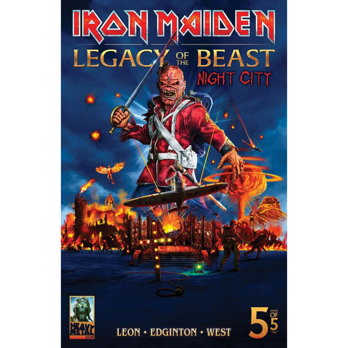 Iron Maiden - Legacy of the Beast - Volume 2 - Issue #5 - Cover B