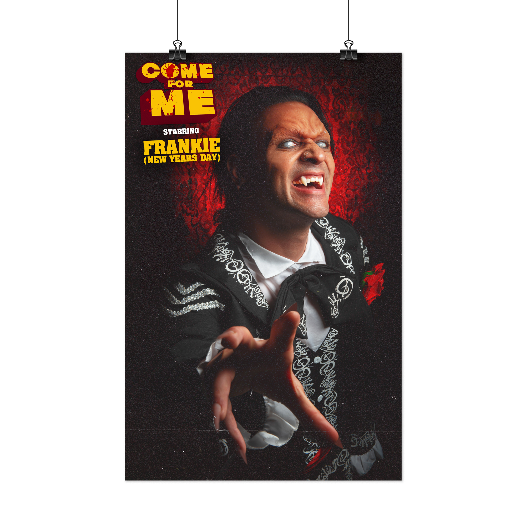 "Limited Edition Frankie ""Come For Me"" 11x17"" Movie Poster"