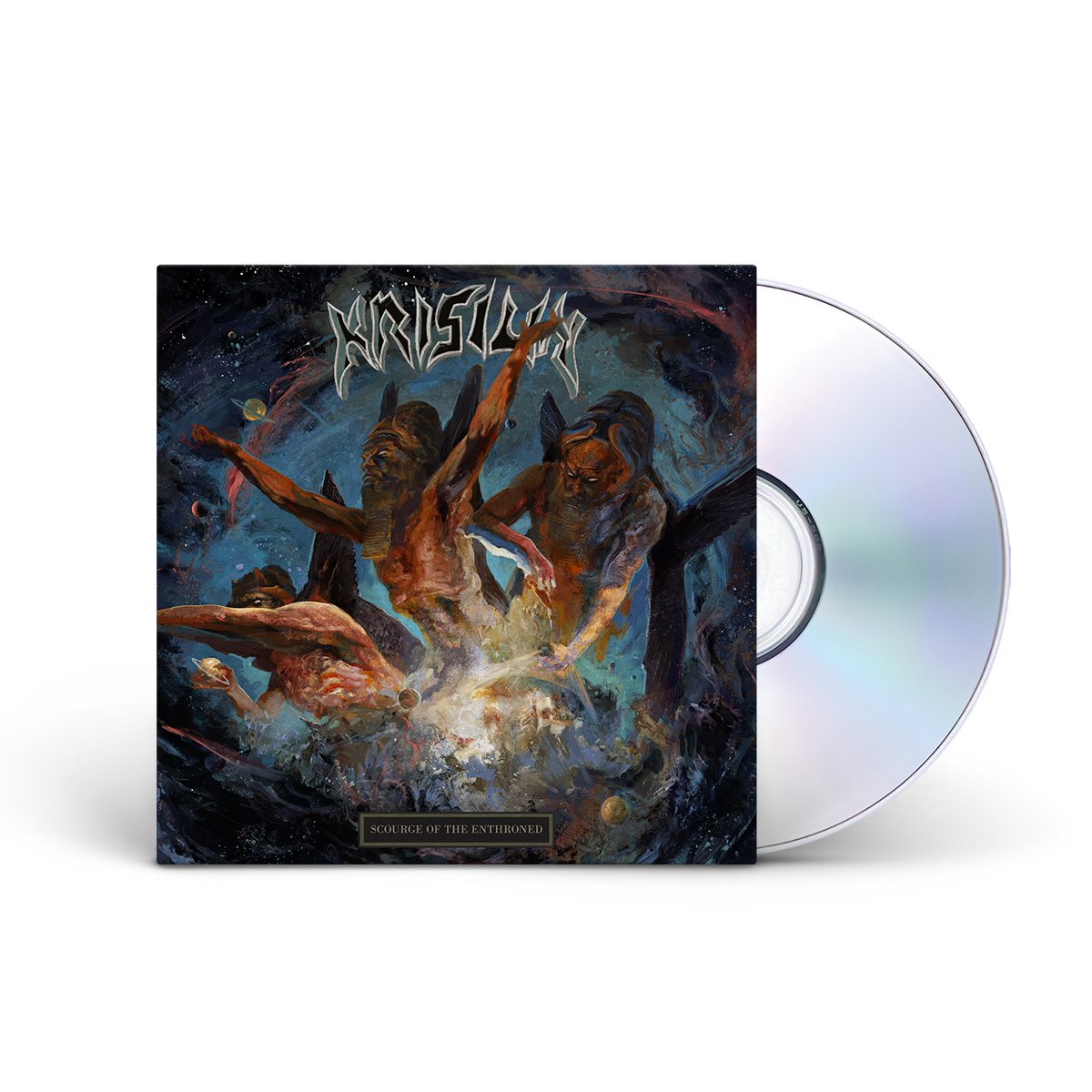 Krisiun: Scourge Of The Enthroned CD