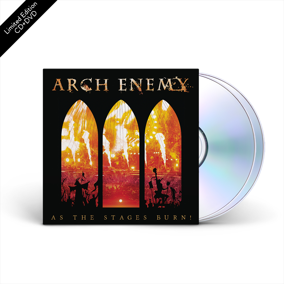Arch Enemy - As The Stages Burn! Limited Edition CD+DVD