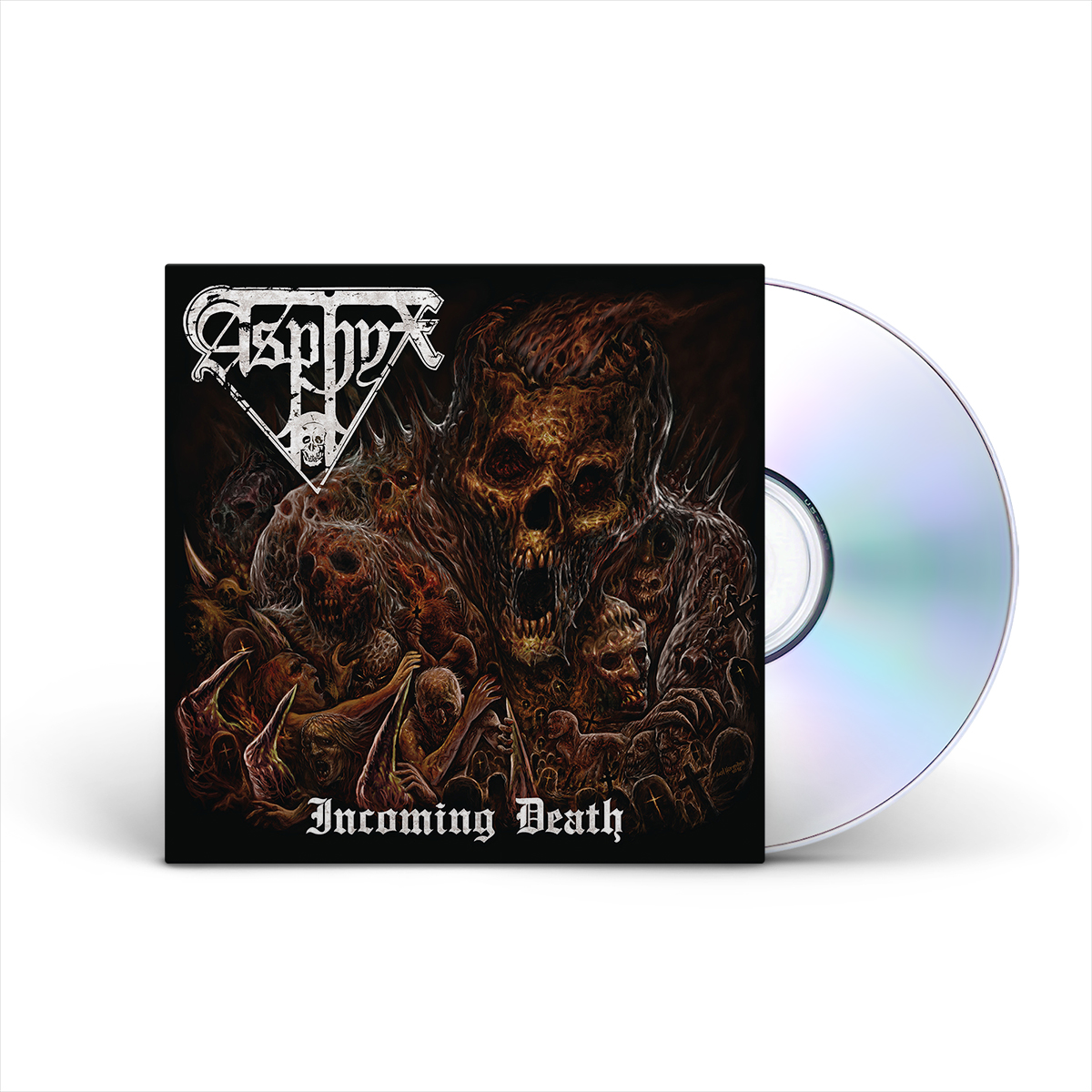 Asphyx - Incoming Death Limited Edition CD