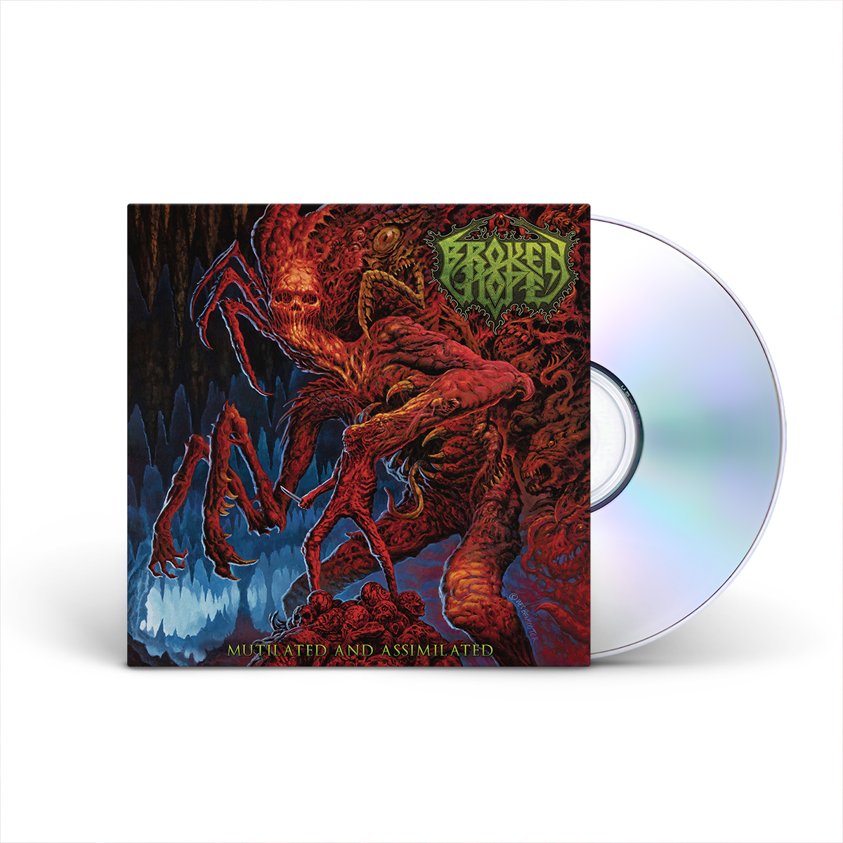 Broken Hope - Mutilated and Assimilated Limited Edition CD