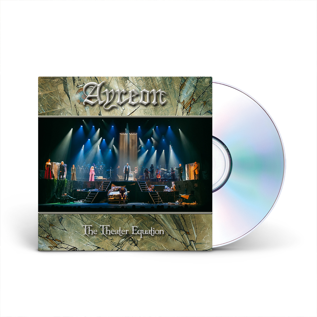 Ayreon - The Theater Equation 2 CD + DVD Set
