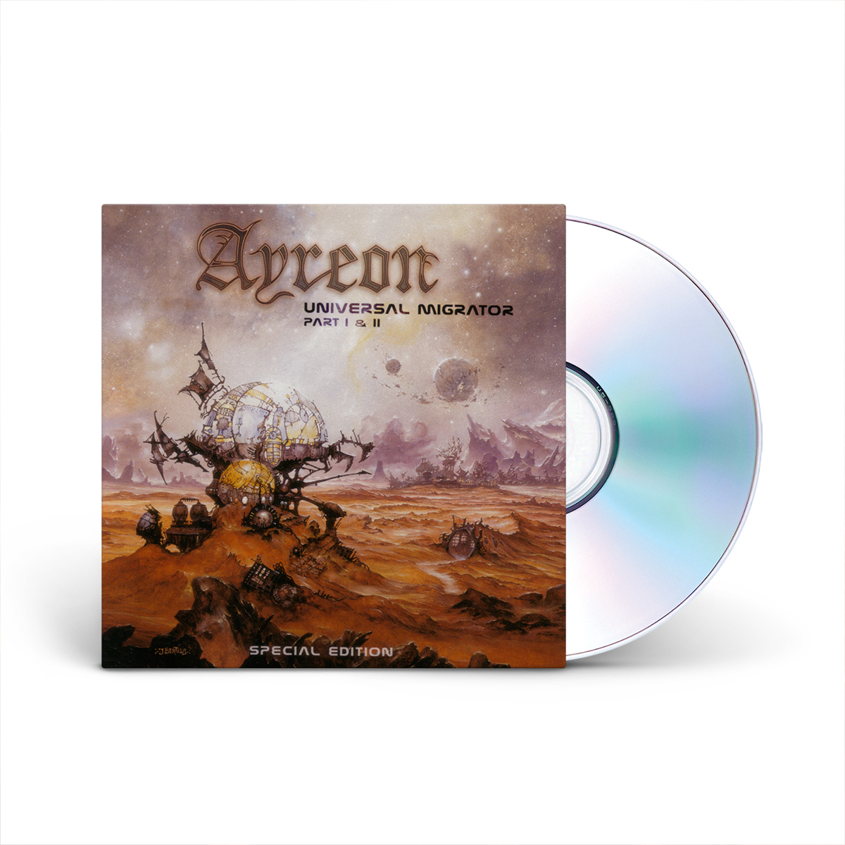 Ayreon - Universal Migrator Part I & II CD
