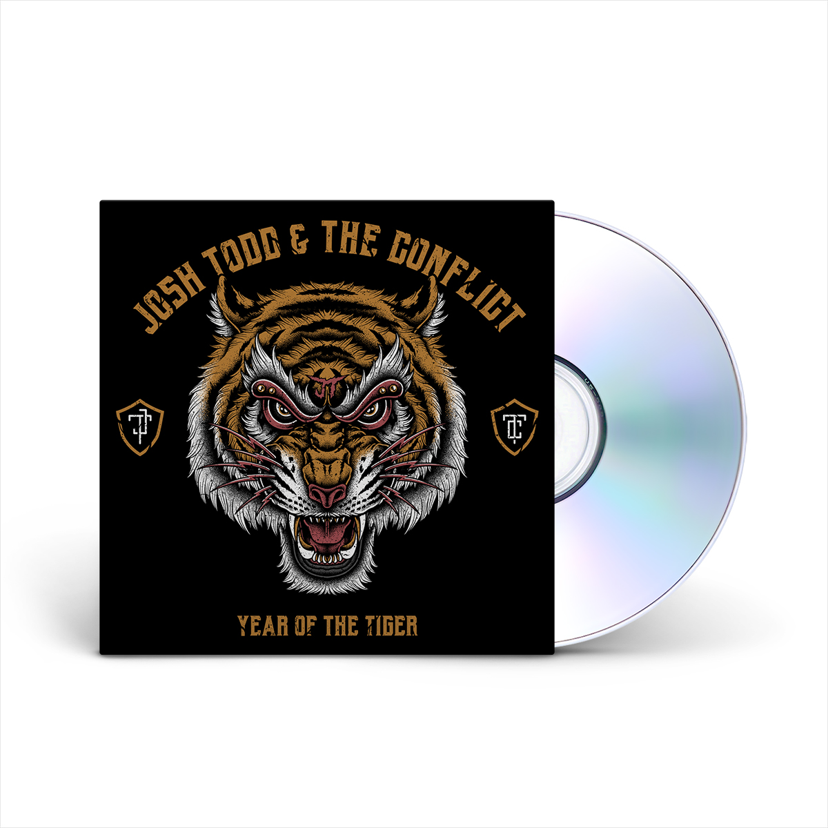 Josh Todd & The Conflict - Year Of The Tiger CD