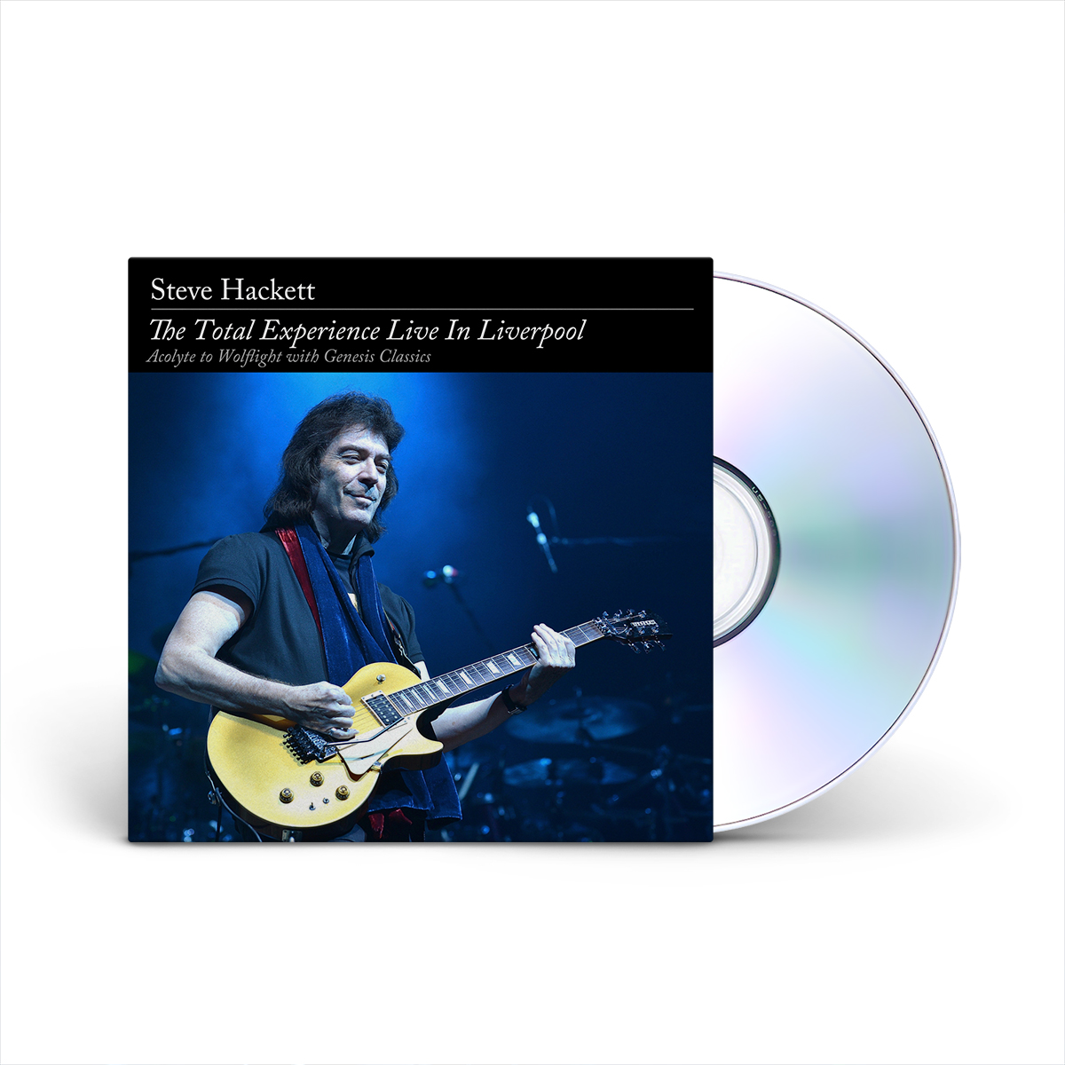 Steve Hackett - The Total Experience Live In Liverpool 2 CD + 2 DVD Set