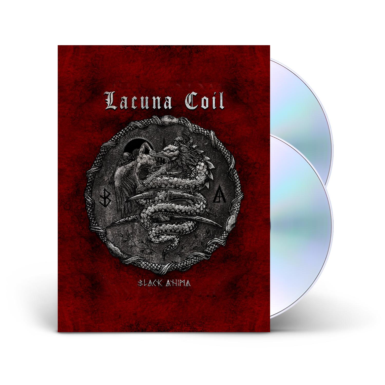 Lacuna Coil - Black Anima Limited 2-CD Book Edition + Tarot Cards