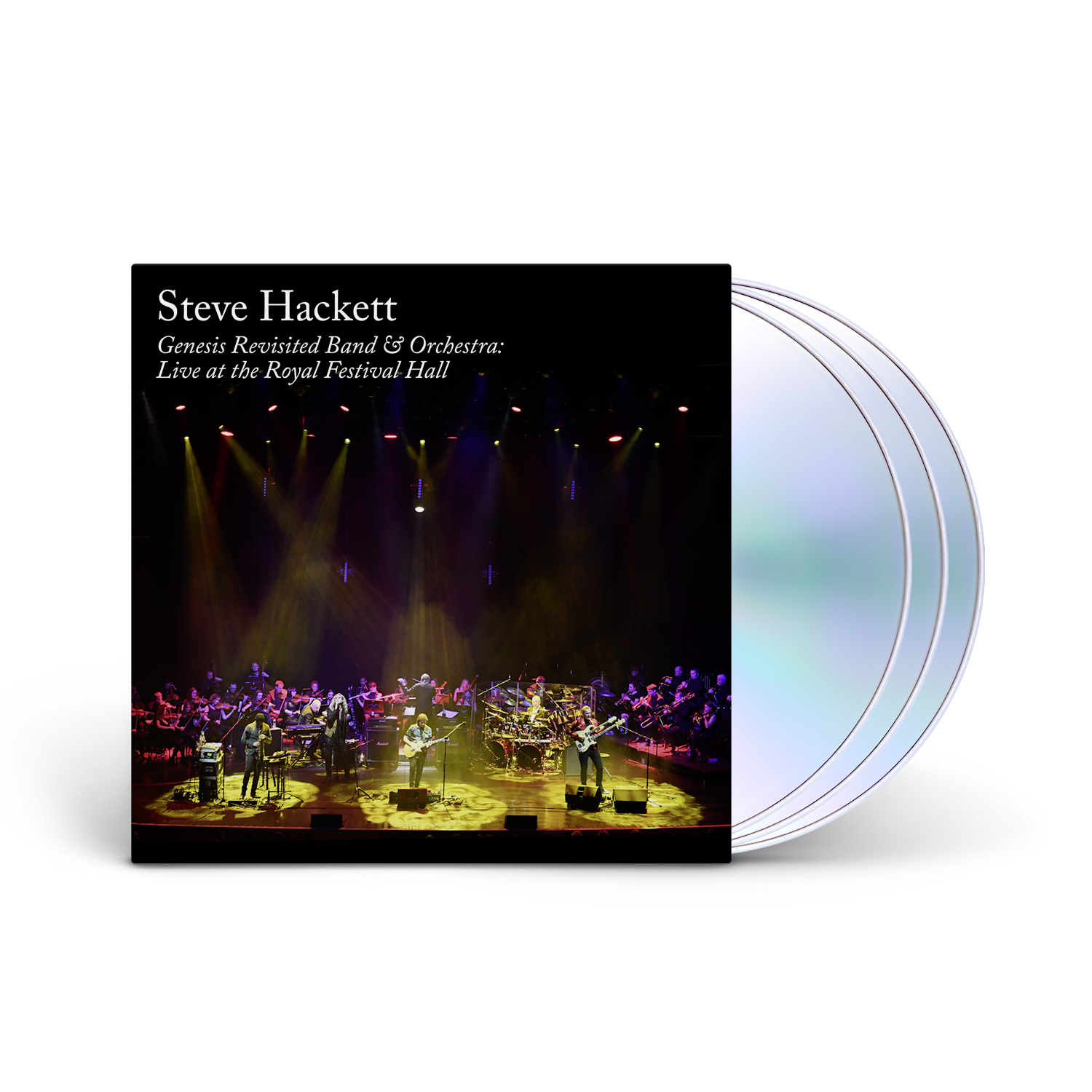 Steve Hackett - Genesis Revisited Band & Orchestra: Live 2CD+BLU-RAY+DVD
