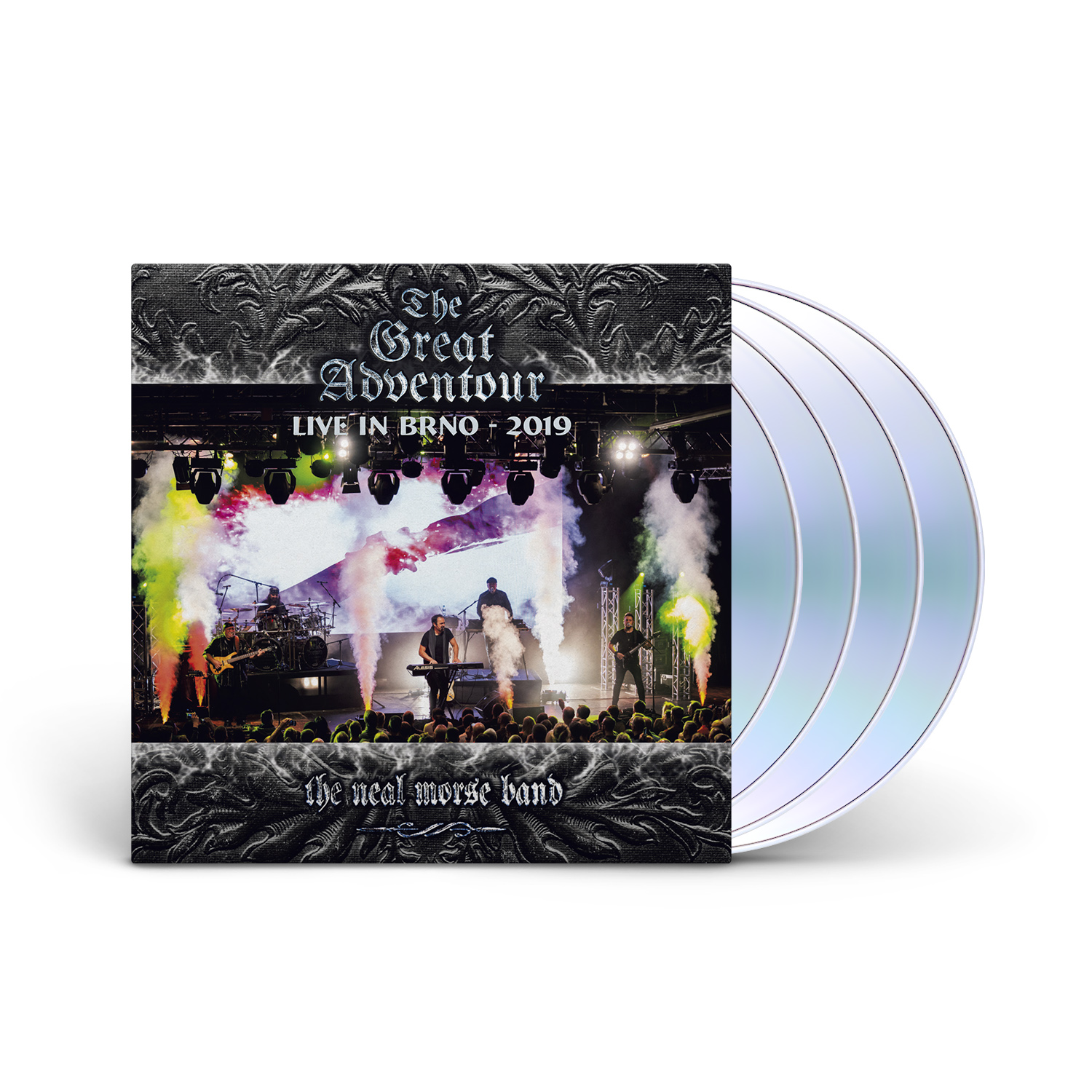 The Neal Morse Band - The Great Adventour Live in BRNO 2CD + BLU-RAY