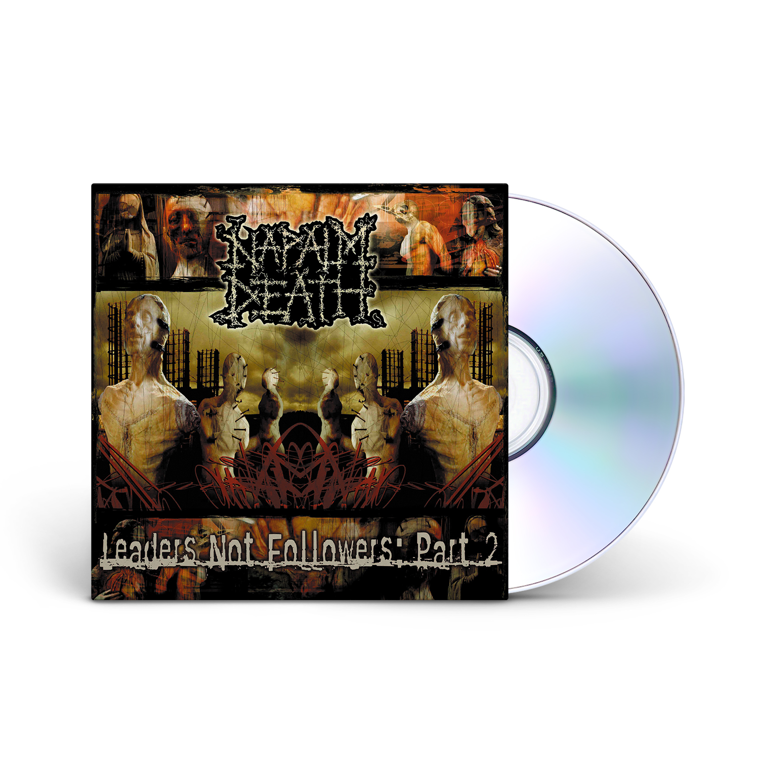Napalm Death - Leaders Not Followers: Part 2 CD Jewelcase
