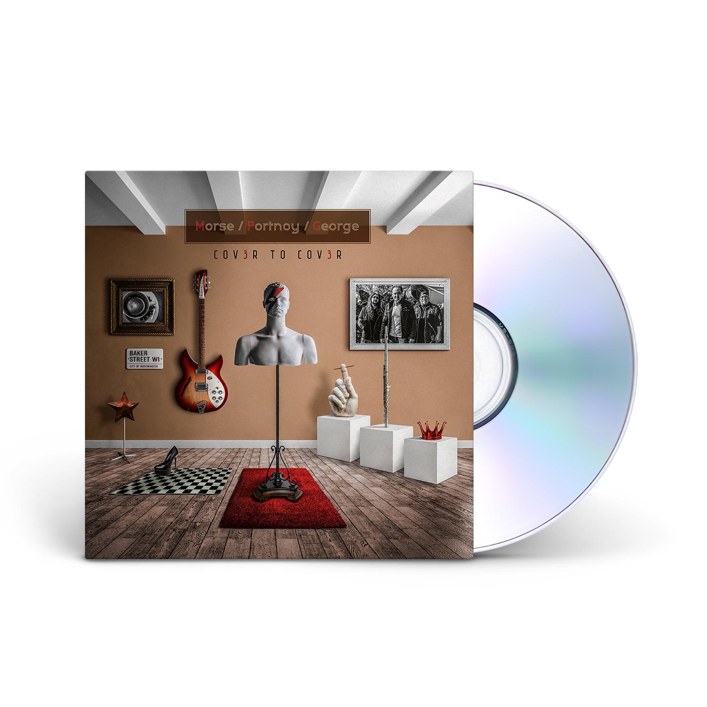 Morse/Portnoy/George - Cov3r to Cov3r CD Jewelcase + Digital Download
