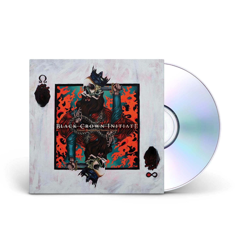 Black Crown Initiate - Violent Portraits of Doomed Escape CD Digipack + Digital Download
