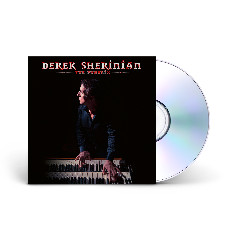 Derek Sherinian - The Phoenix CD Jewelcase + Digital Download