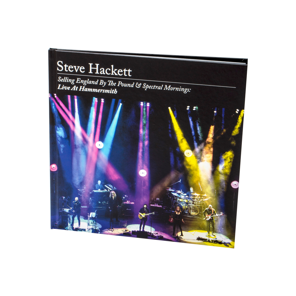 Steve Hackett - Selling England By The Pound & Spectral Mornings: Live At Hammersmith Jewelcase 2 CD + DVD + BluRay + Artbook + Digital Download